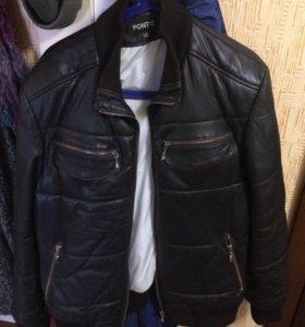 Кожаная куртка PONTO