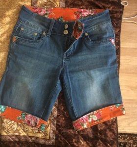 Шорты джинсовые стильные