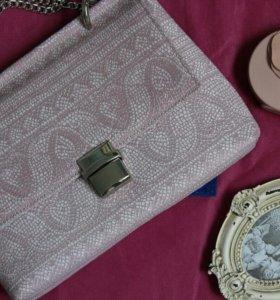 Сумка из натур кожи дизайнера Кристины Урусовой