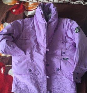 Куртка пуховик зима новая 46 размер