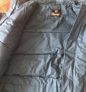 Куртка пальто пуховик новый 56 размер