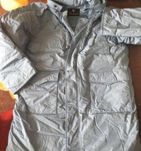 Куртка пуховик новый 56 размер