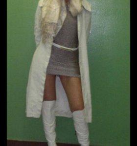 Сапоги ботфорты лакированная кожа Paolo Conte