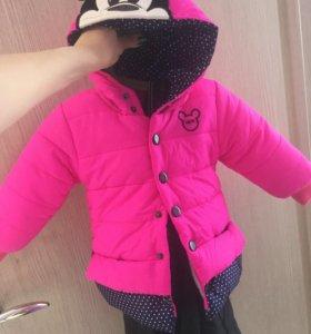 Новая курточка на 1.5-2года!