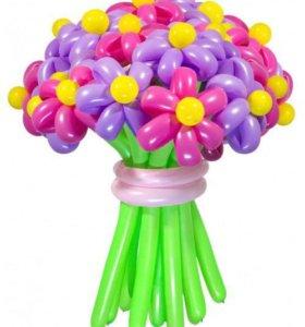 Подарочные букеты из шаров