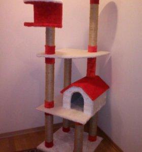 Домик для кошки Ю4