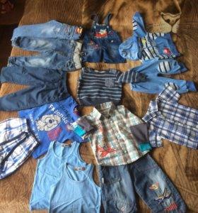 Одежда На мальчика от 1-2 г