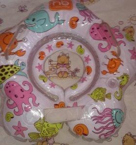 Круг для купания Happy Baby Aquafun надувной