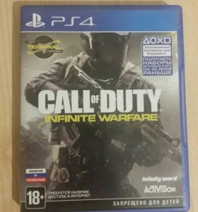 Call me duty infinite warfare ps4 (Playstation 4)