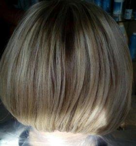 Разное окрашивание волос
