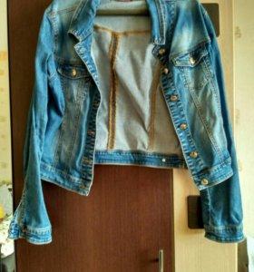 Джинсовая куртка 48 размер