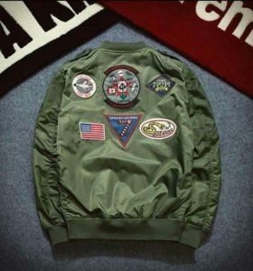 Куртка МА1 армии пилот бомбардировщик