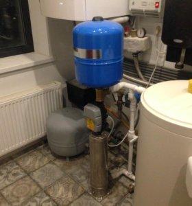 Отопление, водоснабжение,станции очистки воды.