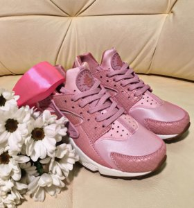 Кроссовки Nike Huarache premium pink