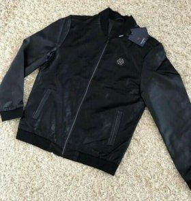 Куртка мужская кож новая