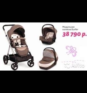 ❗️❗️❗️Коляска Prenatal Surfer 3v1+подарок+торг