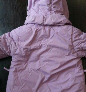 Куртка и желетка на зиму