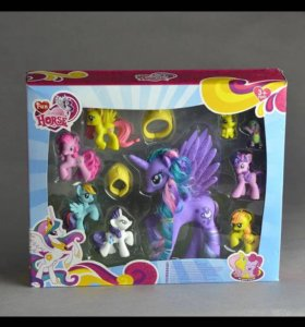 Набор игрушек пони
