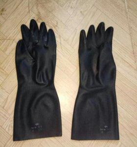 Резиновые перчатки, рхбз, л-1, озк, противогаз