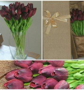 Декоративные цветы-латексные для вазы