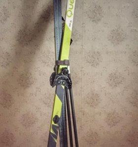 Детские лыжи и ботинки