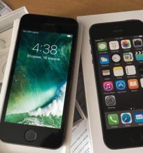 """Смартфон Apple iPhone 5S 4"""" 16 Gb Grey"""