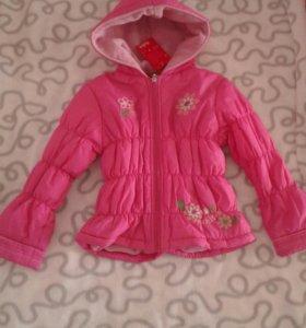 Новая Куртка на 3-5 лет