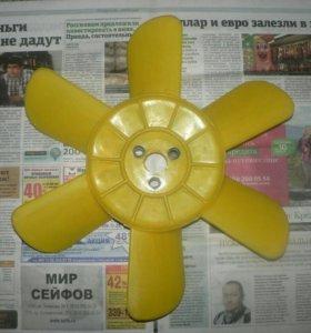 Новая крыльчатка вентилятора а/м ВАЗ 2101 2102
