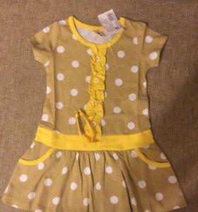 Платье 86-92см