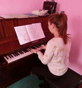 Частные уроки по игре на фортепиано