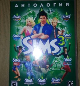 Диск Sims3
