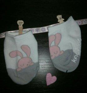 Новые носки для малышей