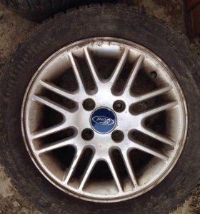 Литые диски форд оригинал