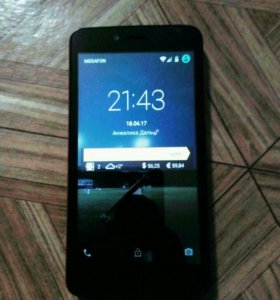 Телефон Fly fs505 Nimbus 7.
