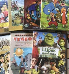 Диски детские мультфильмы