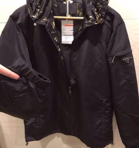 Новая куртка Prada мужская
