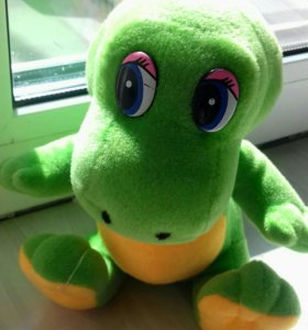 Новая игрушка Динозавр