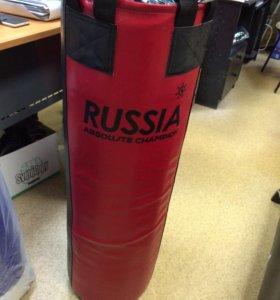 Мешок боксерский 50 кг Экокожа!)
