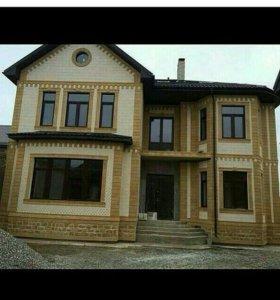 Облицовка домов