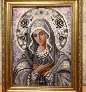 Алмазная вышивка(картины иконы из страз)