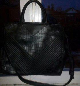 Кожаная сумка вестфалика