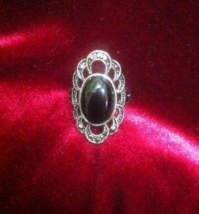 Набор: Перстень ажурный+Серьги ажурные,винтаж