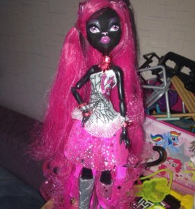 "Кукла ""монстер хай"" Кэтти Нуар/doll ""monster high"""