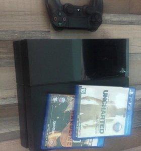 Playstation 4 и 12 игр