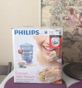 НОВАЯ пароварка Philips