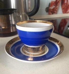 Чайная пара сервиз лфз аврора