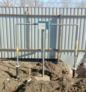 Монтаж систем отопления,газоснабжения,водоснабжени