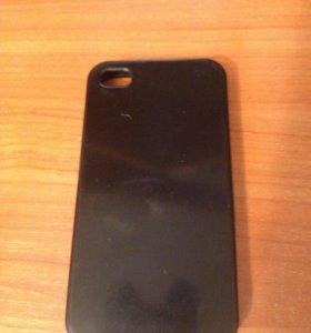 Чехол простой на IPhone 4s