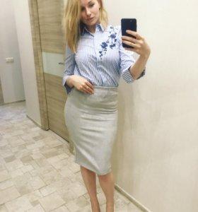 Новые рубашки юбки
