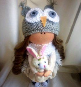 Интерьерная куколка, текстильная кукла